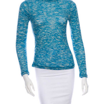 M Missoni Turtleneck Top