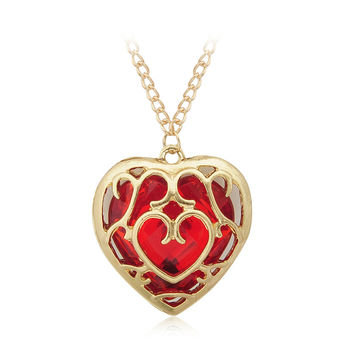 The Legend of Zelda Heart Container necklace