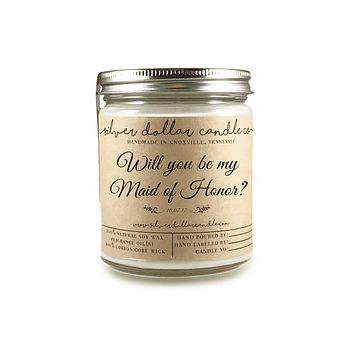 Maid of Honor Proposal - 8oz Soy Candle [V2]