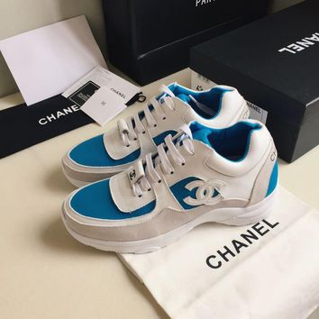CHANEL Classic leisure sports shoes