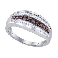 Diamond Fashion Ring in Sterling Silver 0.51 ctw