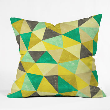 Jacqueline Maldonado Movement 2 Outdoor Throw Pillow