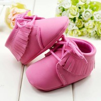 Baby Shoes Girl Sweety cotton winter Toddler