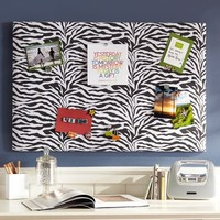Classic Zebra Pin-It Pinboard