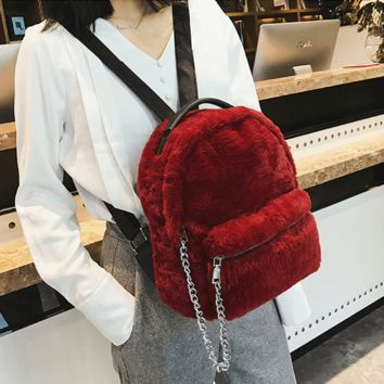 Relaxed Fleece Backpack