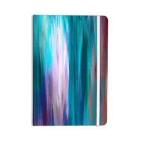 "Ebi Emporium ""Irradiated Multi 3"" Teal Lavender Everything Notebook"