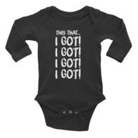 Infant This That... Long Sleeve Bodysuit