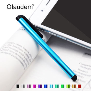 Capacitive Touch Stylus Pen for iPad Mini iPhone 4 4S 5 5S Samsung Galaxy Note 2 3 4 N9100 for Xiaomi Lenovo Phones Tablet TP001
