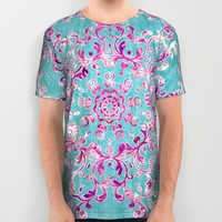 Reinventing A Taste of Lilac Wine All Over Print Shirt by Octavia Soldani | Society6