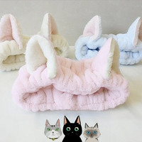 Cat ears fluffy hairband (free ship) sold by CandyFrizz Stars