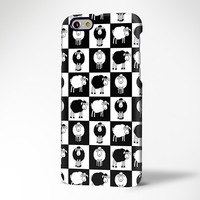 Lovely Sheep Pattern Design iPhone 6 Case/Plus/5S/5C/5/4S Protective Case #428