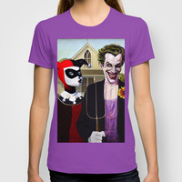 Why So American Gothic? T-shirt by Art & Villains
