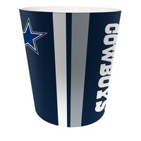 Dallas Cowboys NFL 10 Bath Waste Basket