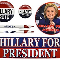 2016 Hillary Clinton for President Kit