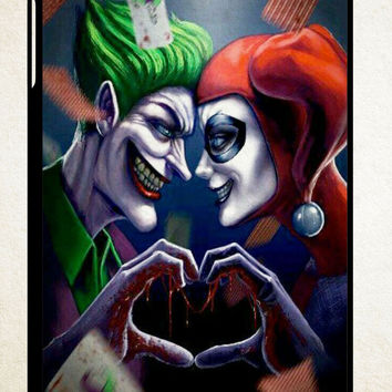 Harley Quinn With Joker X1136 IPad 2 3 4 Mini 1
