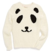 Girl's Tucker + Tate 'Fluffy Icon' Sweater