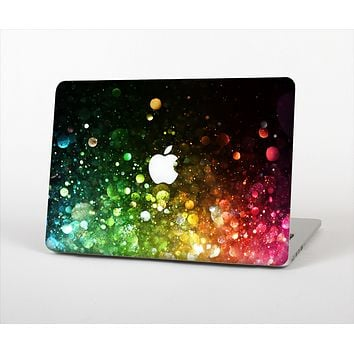 "The Neon Glowing Grunge Drops Skin Set for the Apple MacBook Pro 13"" with Retina Display"