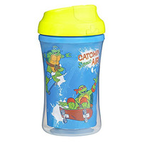 Gerber Graduates Nickelodeon Teenage Mutant Ninja Turtles Insulated Cup Like Rim Sippy Cup, 9-Ounce