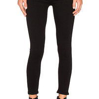 Citizens of Humanity Rocket High Risky Crop Skinny in All Black | REVOLVE