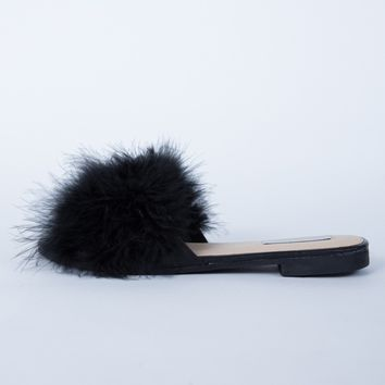 Shaggy Fur Sandals