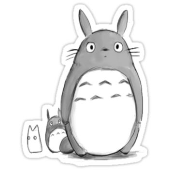 Kawaii My Neighbor Totoro Tumblr Drawing