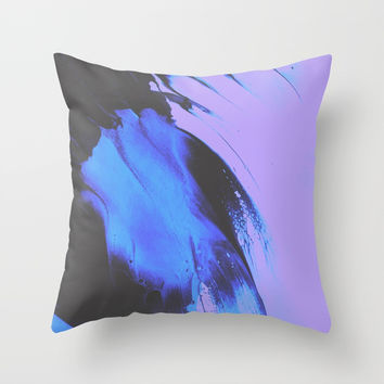 Don't Let Go Throw Pillow by duckyb