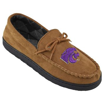 Kansas State Wildcats Microsuede Moccasins - Men (Brown)