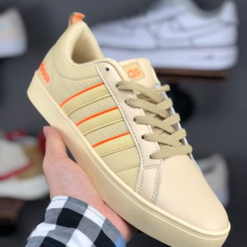 HCXX A1317 Adidas 2019 summer Canvas leather Casual Skateboard Shoes yellow