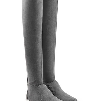 Pierre Hardy - Suede Over the Knee Boots