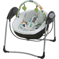 Graco Glider Lite LX Gliding Swing - Bear Trail