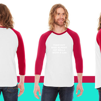 Team Guy Who Almost Hit Bella with a Car American Apparel Unisex 3/4 Sleeve T-Shirt