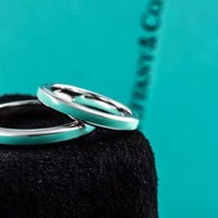 Tiffany & Co. Enamel ring Couple Rings
