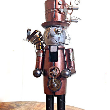 Steampunk Robot Nutcracker