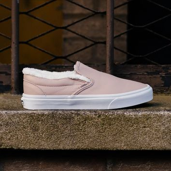 HCXX Vans Leather Sherpa Slip-On VA38F7QTR