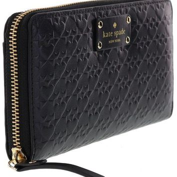 ICIK4S2 Kate Spade New York Penn Place Embossed Neda Leather Continental Wallet