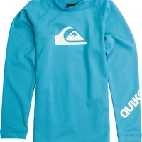 QUIKSILVER TODDLERS ALL TIME LS RASHGUARD
