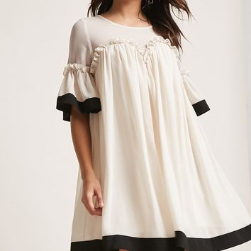 Ruffled Babydoll Dress