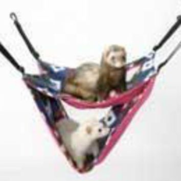 LMFYN5 Marshall Pet Ferret Deluxe Hammock Assorted