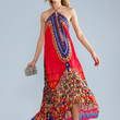 Parides Royal Heritage Dress - Luxury Resort Wear