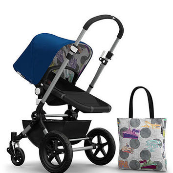 Andy Warhol Cameleon 3 Tailored Fabric Set, Blue/Transport - Bugaboo