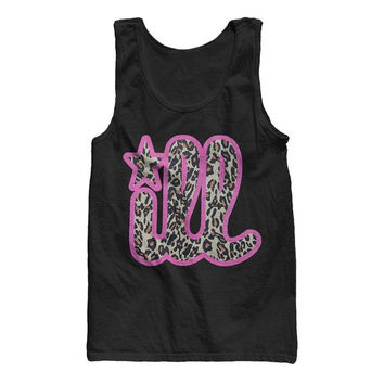 Leopard Cheetah Print Gym Work Out Ill Tank Top