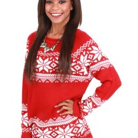 Holly Jolly Holiday Sweater | Monday Dress Boutique
