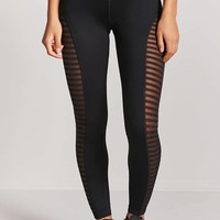 Active Shadow-Stripe Leggings