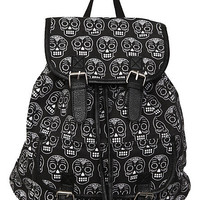 Sugar Skull Cinch Backpack | Hot Topic