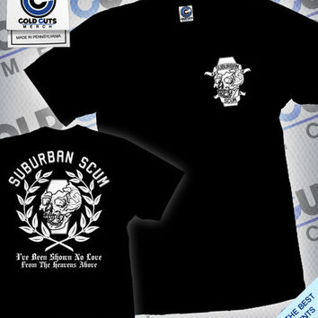 "Cold Cuts Merch - Suburban Scum ""Crest"" Shirt"