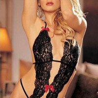 On Sale Cute Hot Deal Sexy One-piece Exotic Lingerie [4919820420]