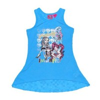 Monster High Perfectly Imperfect Girls Racer Back Tank Top