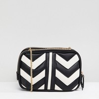 Accessorize Miranda quilted cross body bag at asos.com
