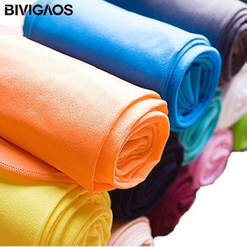 BIVIGAOS 120D High Quality Opaque Colorful Velvet Pantyhose Spring Summer Harajuku Compression Sexy Collant Women Tights Medias