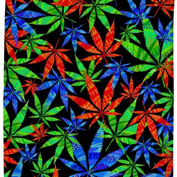 Weeds 3D Shower Curtain